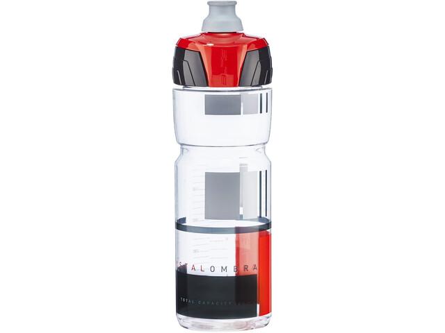 Elite Crystal Ombra Fume' Drinking Bottle 750ml transparent/red